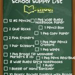 4th Grade School Supply List 2020