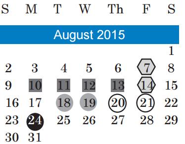 Langford Elementary School District Instructional Calendar