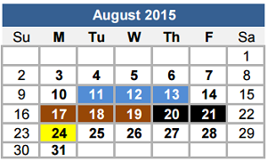 Academic Calendar Georgetown.Georgetown High School School District Instructional Calendar