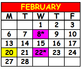 District School Academic Calendar for Lake Shore Middle School for February 2017