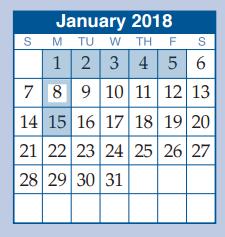 Peet Junior High - School District Instructional Calendar