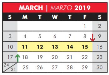 Renner Middle - School District Instructional Calendar