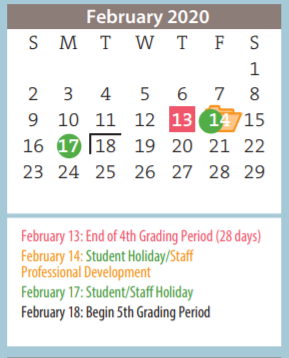 Western Plateau Elementary 2021 Calendar | 2022 Calendar