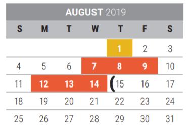 Taylor Elementary - School District Instructional Calendar