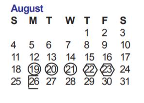 Nisd Calendar 2020 Stinson Middle School   School District Instructional Calendar