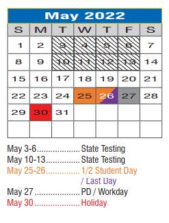 Denton Isd Calendar 2022.Paloma Creek Elementary School District Instructional Calendar Denton Isd 2021 2022