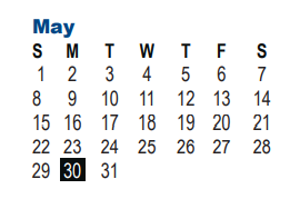 Nisd Calendar 2022.Nisd Intervention 2021 2022 Academic Calendar For May 2022 5900 Evers Rd San Antonio Tx 78238 1699